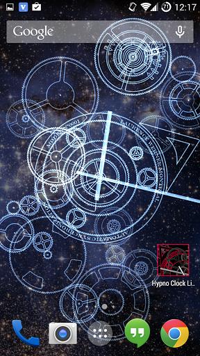 Hypno Clock Live Wallpaper Un Affascinante Orologio Animato Per I