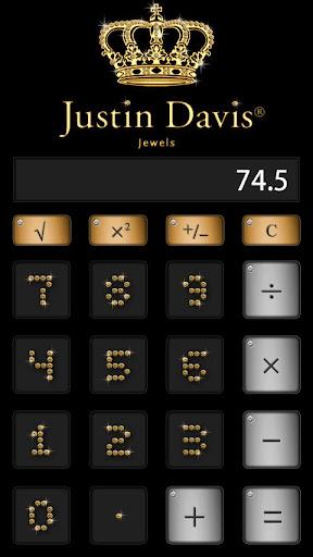 Justin Davis calculator_Gold