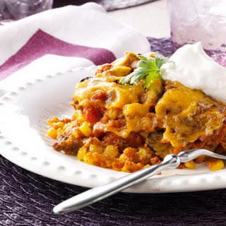 Slow-Cooked Tamale Casserole