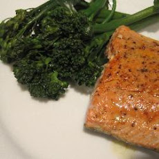 Salmon Fillets With Butter And Lemon