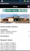 Screenshot of Derby Public Library