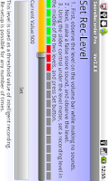 Screenshot of Snore Recorder Pro