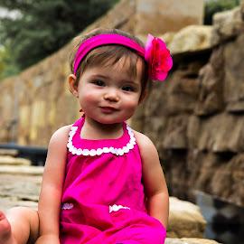 Cutie by Inspired  Foto - Babies & Children Children Candids ( #posing, #photo, #cute, #park, #stl )