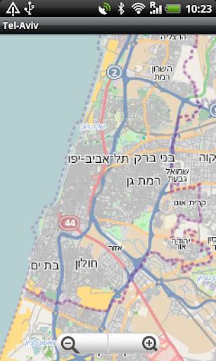 Tel-Aviv Street Map