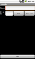 Screenshot of Group By
