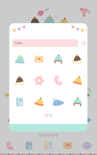 fluffy hat dodol theme - screenshot
