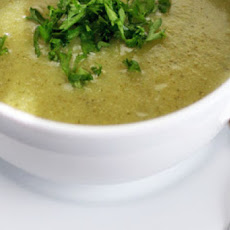 Cream of Broccoli Soup Recipe with Coconut Milk