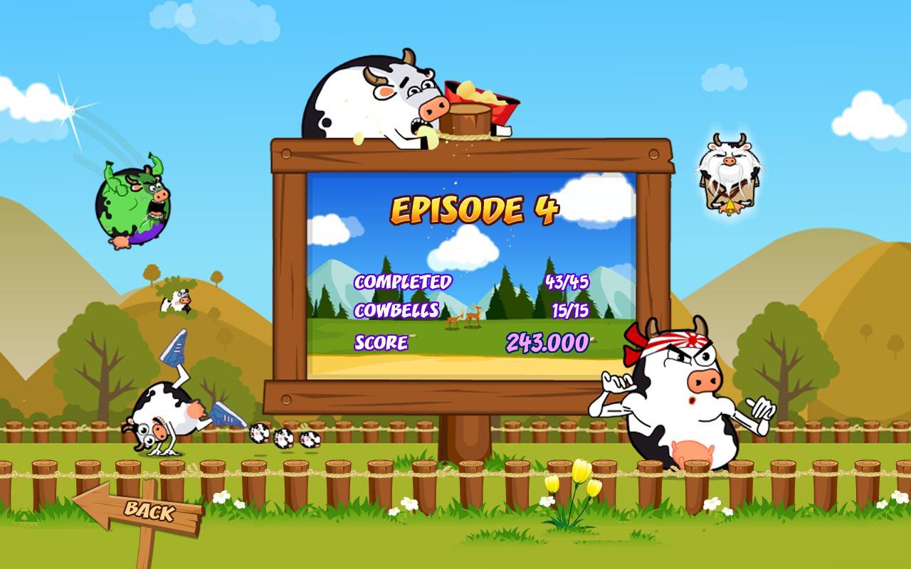 Cowaboom - Launch the cow ! – Screenshot