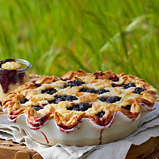 Latticed Cherry Pie
