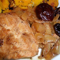 Sweet Pork With Apples and Prunes (Slow Cooker)