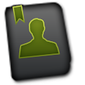 GO CONTACTS- Froyo Style Green icon