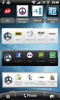 Screenshot of Askeroid Mobile Search Widget