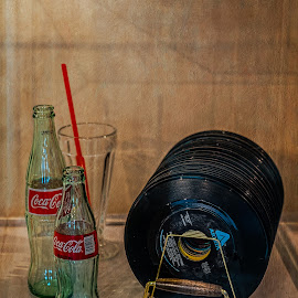 Yesteryear by Izzy Kapetanovic - Artistic Objects Antiques ( yesteryear, bottles, 45s, soda, records, antiques )