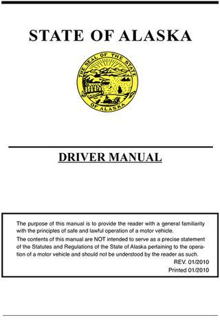 Alaska Driver Handbook