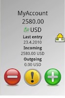 Screenshot of DailyCash