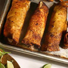Crispy Turkey Enchiladas Recipe