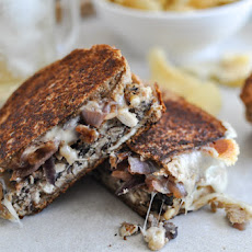 Double Bean Burger Patty Melts