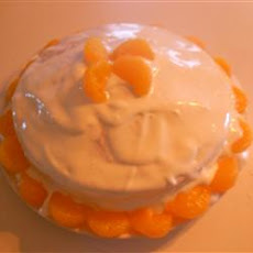 Orange Cream Cake IV