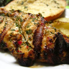 Grilled Thai Chicken Breasts With Herb-Lemongrass Crust