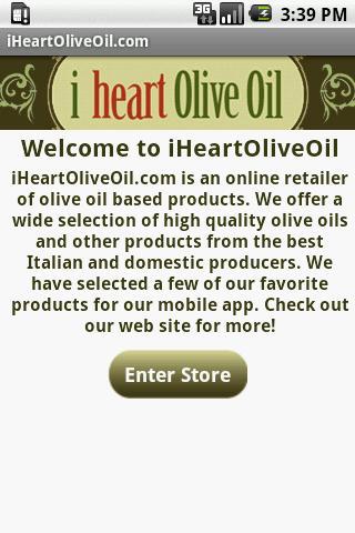 I Heart Olive Oil