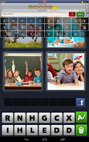 Screenshot of Cheats for 4 Pics 1 Word