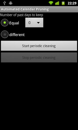 Automated Calendar Cleaning
