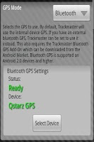 Screenshot of Bluetooth GPS Service