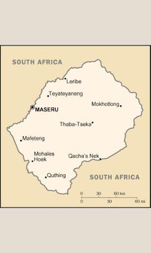 바탕 화면 레소토 Wallpaper Lesotho