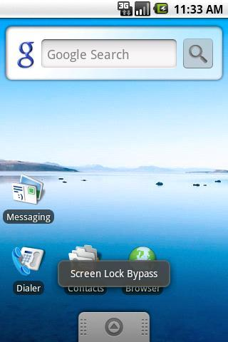 Screen Lock Bypass Reset
