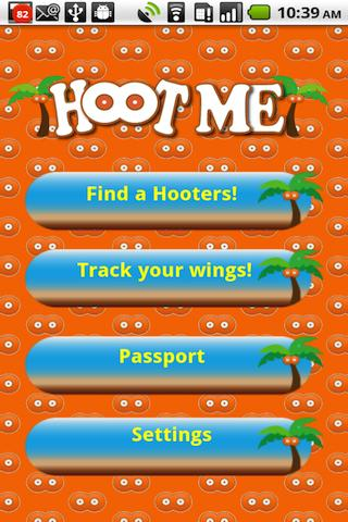 HootMe - Hooters locator