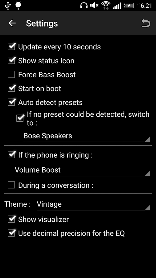 Bass Booster Pro Screenshot 6