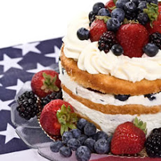 Fourth of July Celebration Cake
