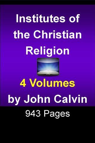 John Calvin's Christian Relig.