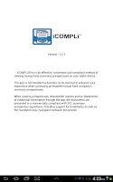 Screenshot of iCOMPLiSPro