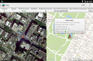 Screenshot of Real Time Tracker 2