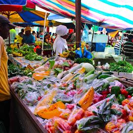 Sir Selwyn Clarke Market by François Jabre - City,  Street & Park  Markets & Shops ( life, market, fresh, fruits, people )