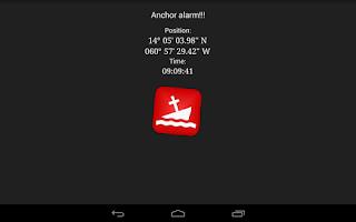 Screenshot of Anchor Watch