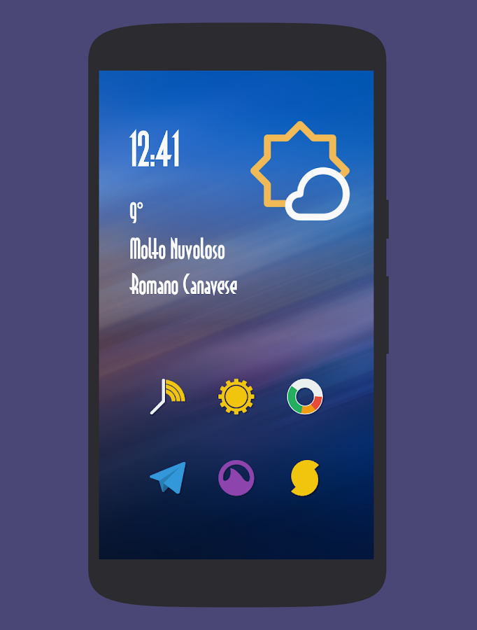 Naxos Taz - Icon Pack Screenshot 0