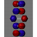 3D DNA Double Helix icon