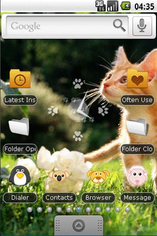 Cute little Cat Full Theme