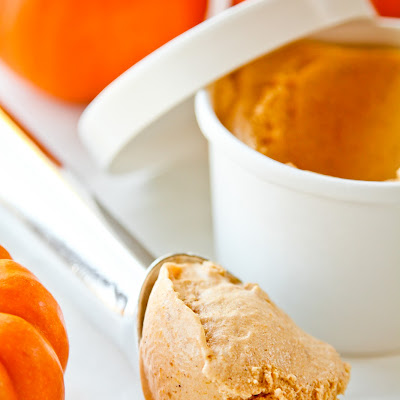 Spiced Pumpkin Ice Cream