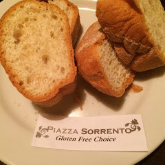 Complimentary gluten free bread - warm and lightly toasted.