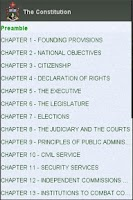 Screenshot of Zimbabwe Constitution