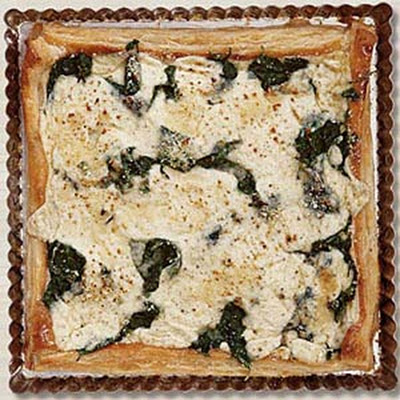 Spinach and Ricotta Tart