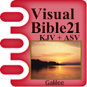 Visual Bible 21 KJV + ASV icon