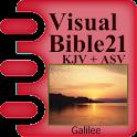 Visual Bible 21 KJV + ASV icon