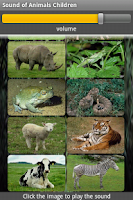 Screenshot of Animal sound ringtones free