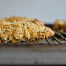 Cheddar Crusted Chicken Fingers