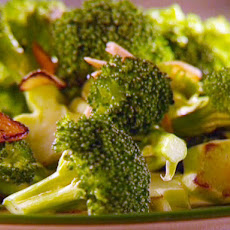 Sauteed Broccoli and Almonds