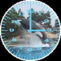 Killer Whale 2 Analog Clock icon